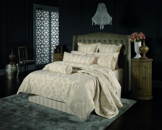 Sheridan Sellick Bone Duvet Cover, Pillowcases and Bed skirt.