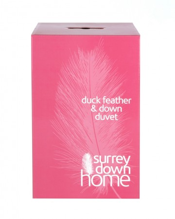 White Duck Feather and Down Duvet by Surrey Down