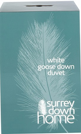White Goose Down Duvet by Surrey Down