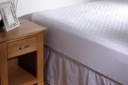 Bailey Carvan 100% Cotton Ripple Mattress Protector