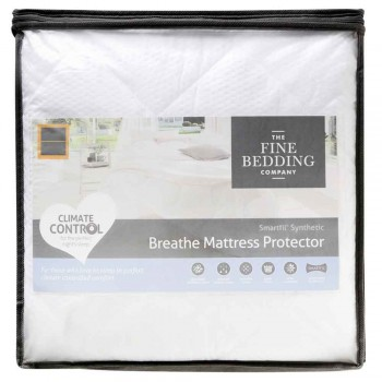 Breathe Mattress Protector by the Fine Bedding Company
