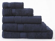 Sheridan luxury Egyptian Cotton Towels British Navy