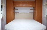 Elddis Caravan Island Bed - 100% cotton Fitted sheet
