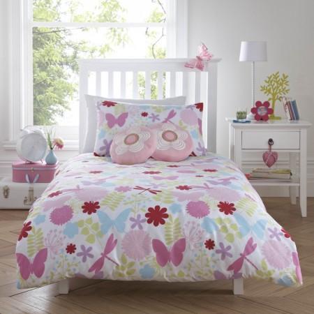 Just Kidding Bella Butterfly Children's Bedding