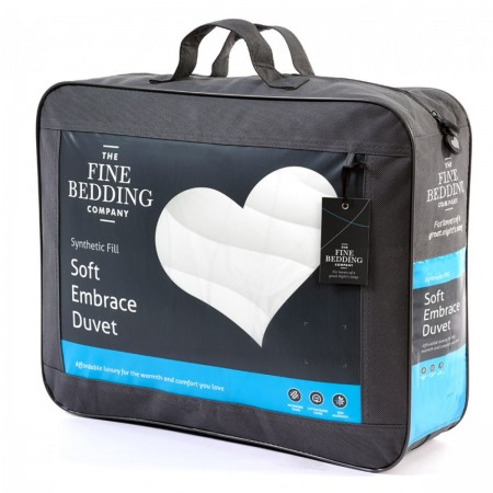 Soft Embrace Duvet by Fine Bedding Company in handy holdall