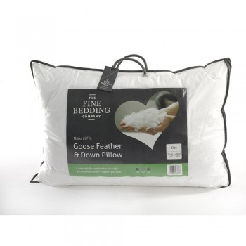 Goose Feather and Down Pillow by Fine Bedding Company