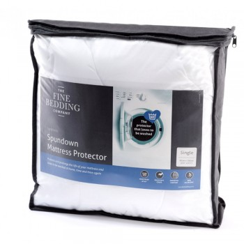 Spundown Mattress Protector by Fine Bedding Company