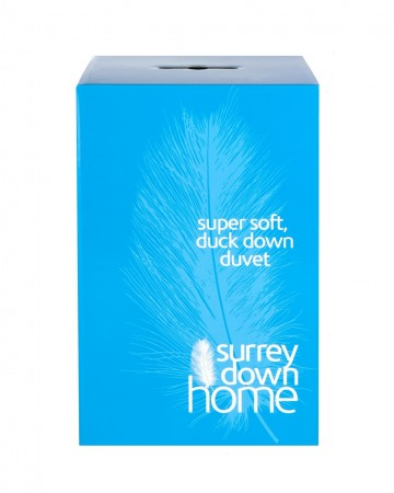 White Duck Down Duvet by Surrey Down