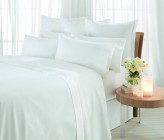 Sheridan 1000 Thread Count Luxury Cotton Fitted Sheets, Snow