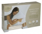 Traditional Memory Foam Pillow by Fine Bedding Company