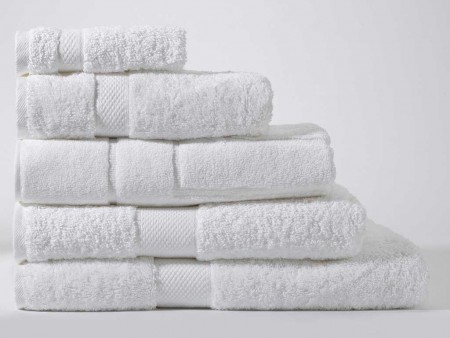 Sheridan Luxury Egyptian Cotton Towels Snow