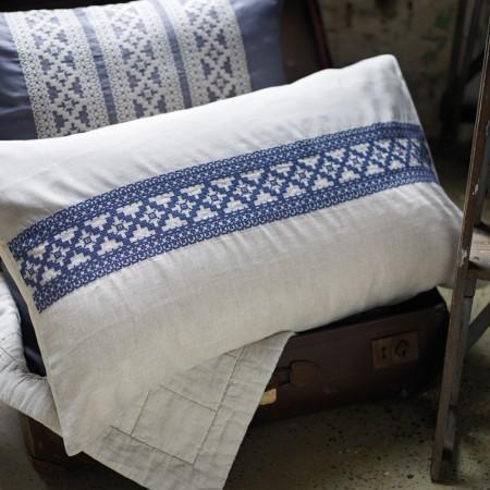 Sheridan Francoise Indigo Cushion