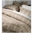Check Duvet Cover set by Belledorm