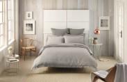Sheridan Hopeton Bed Linen - Fog