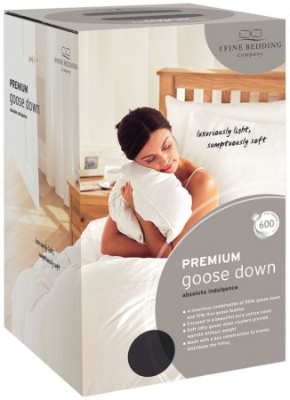 Premium Goose Down Duvet by Fine Bedding Company