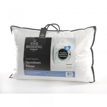 Spundown Microfibre Pillow by Fine Bedding Company