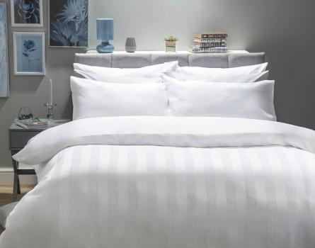Belledorm Newbury Duvet Cover Set - White