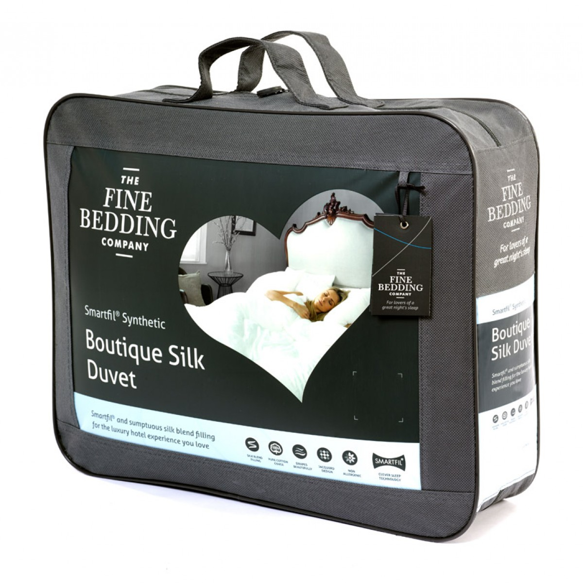 Fine Bedding Company Boutique Silk Duvet 10.5 Tog Hotel Quality Super King 4:33