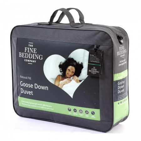 The Fine Bedding Company 60% Goose Down Duvet