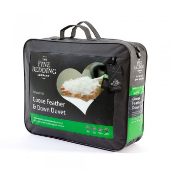 Goose Feather & Down Duvet by the Fine Bedding Company