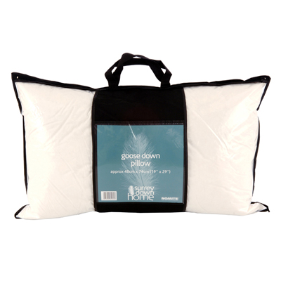 Goose Down Surround Pillow by Surrey Down