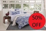 Sheridan Saskia French Blue Bedding