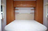 Fixed Island Bed fitted sheet for Swift Caravan