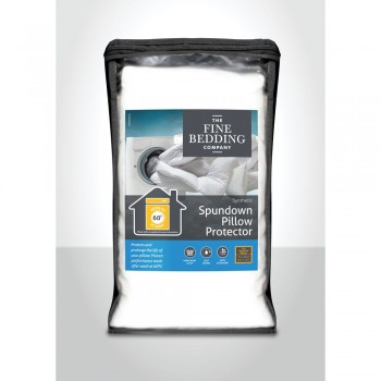 Spundown Pillow Protector by Fine Bedding Company
