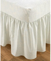 Percale Fitted Valance Sheet