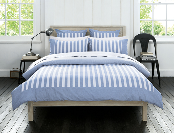 Sheridan Eaton Chambray Duvet Cover, Pillowcases and Cushion