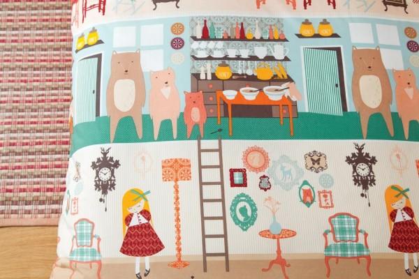 Hiccups Children's Bedding - Goldilocks Bedlinen
